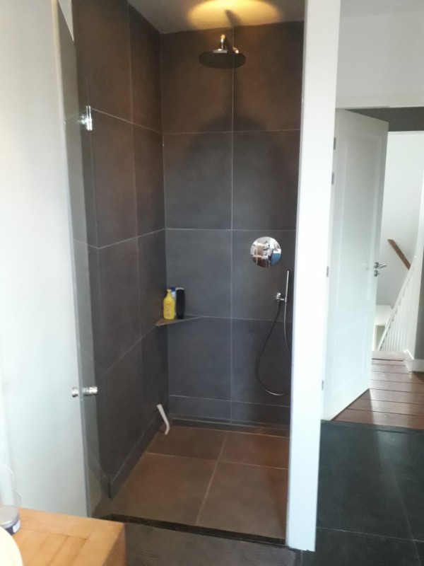 Renovatie douchehoek